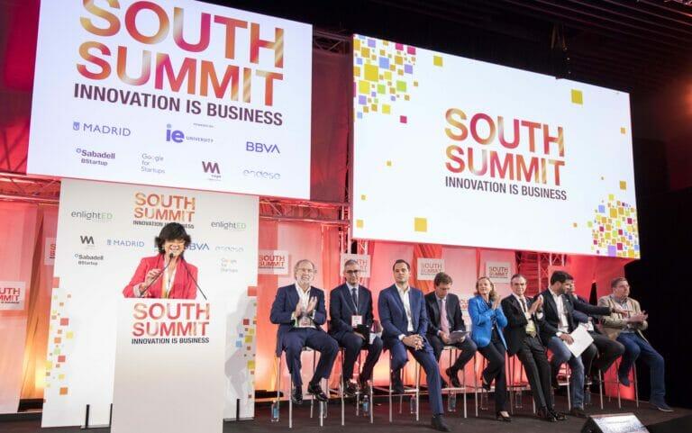 María Benjumea en la Apertura South Summit 2019.