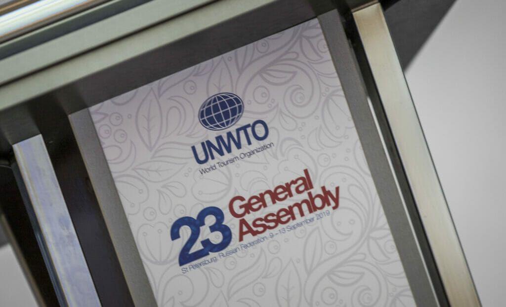 Asamblea general de la OMT en San Petesburgo