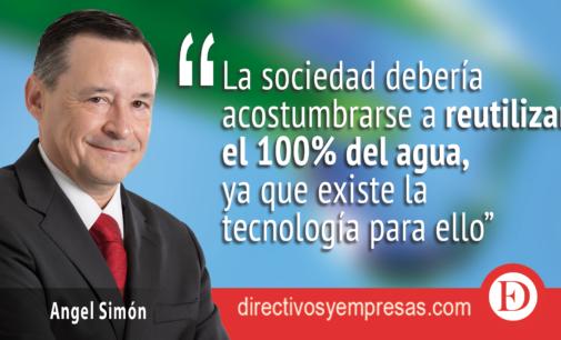 Angel Simón esgrime motivos suficientes para un Pacto de Estado en materia del agua