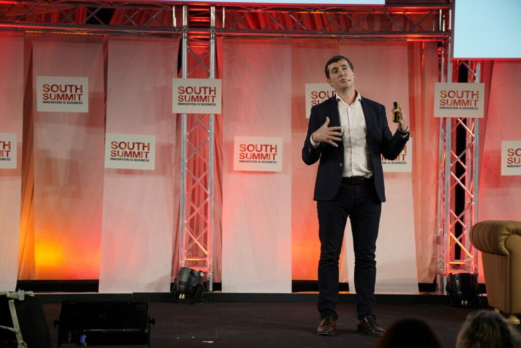 Ciaran Quilty Facebook en South Summit.
