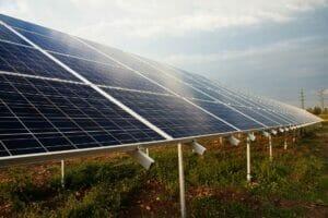 Panales de energía fotovoltaica.