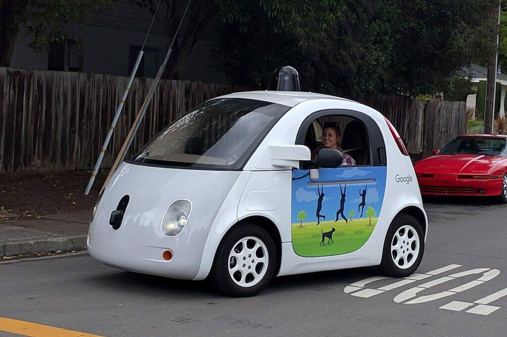 Waymo, modelo de coche autónomo de Google.