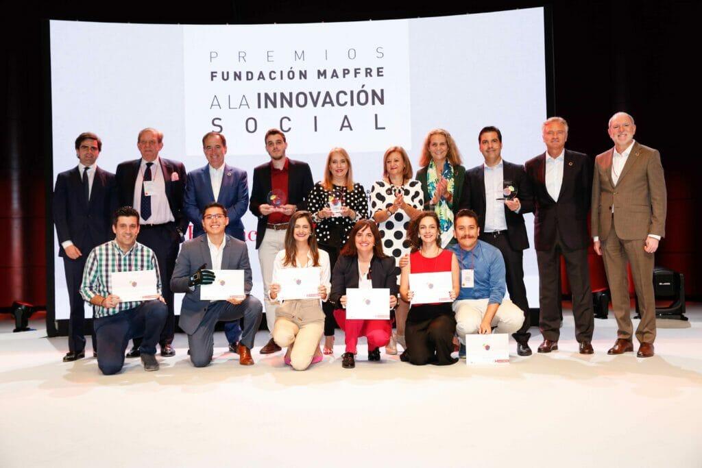 Grupo premiados y finalistas_FMapfre Premios Innovacion