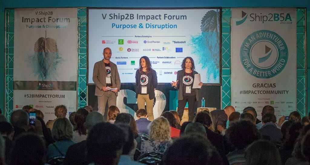 Edición 2018 del impact forum-ship2b