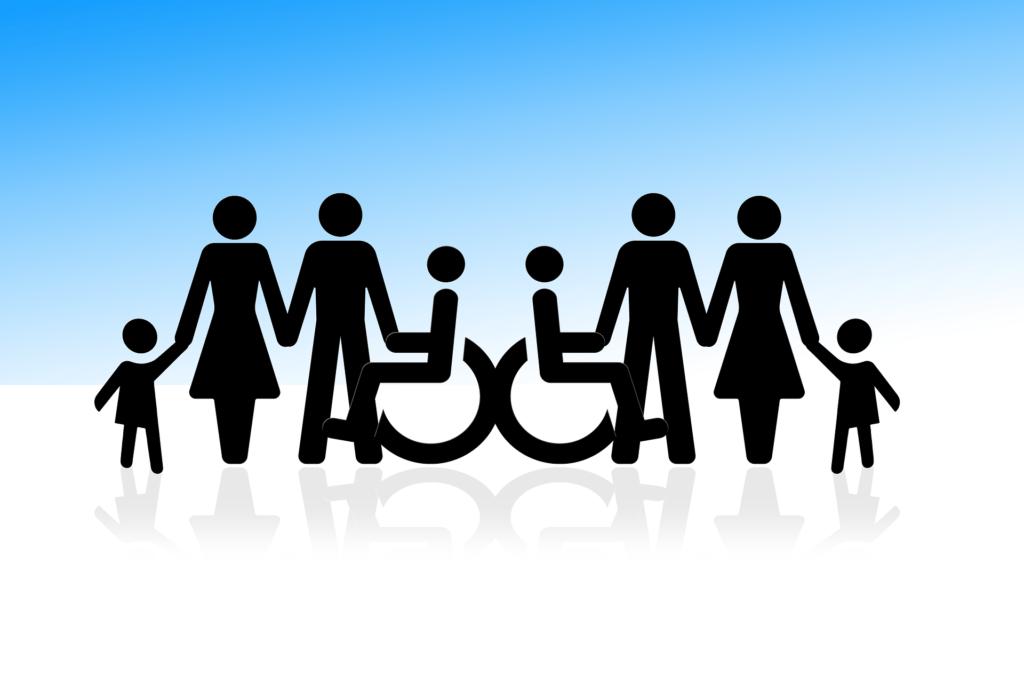 inclusión de personas con discapacidad.