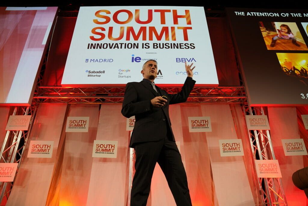Jaime Gonzalo (Huawei) en su conferencia del South Summit.