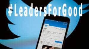 #LeadersForGood es una iniciativa de Twitter para que los directivos debatan sobre sus compromisos con la sociedad.