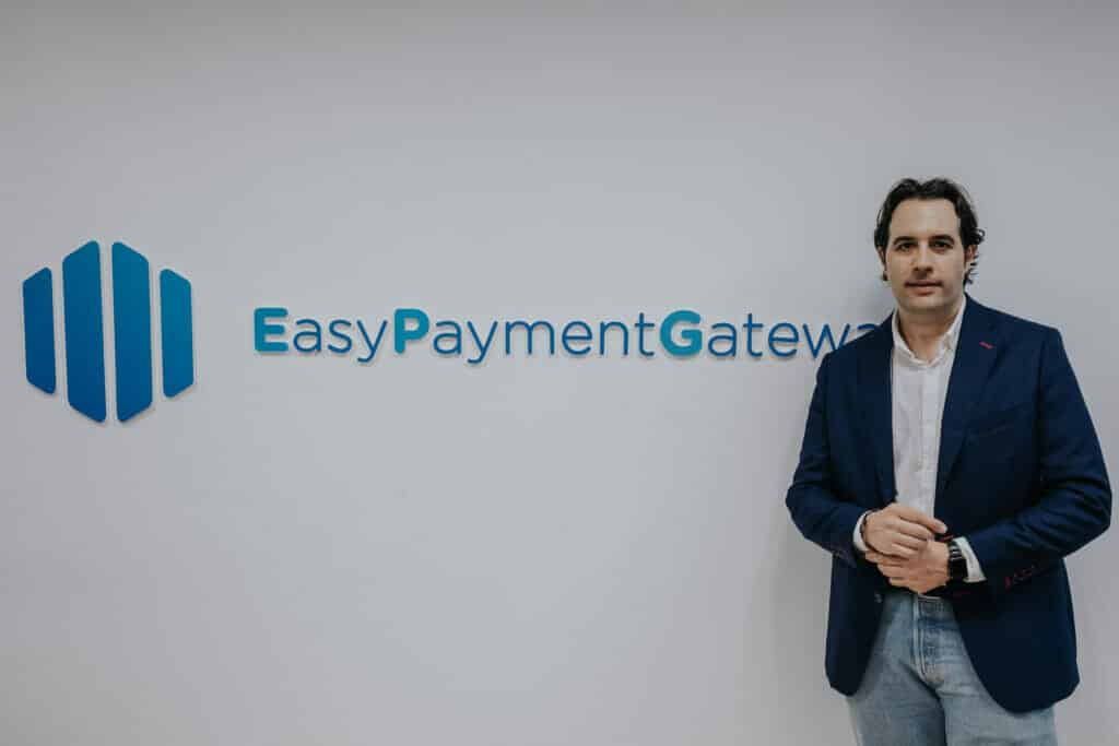 Manuel Prieto CEO de Easy Payment Gateway.