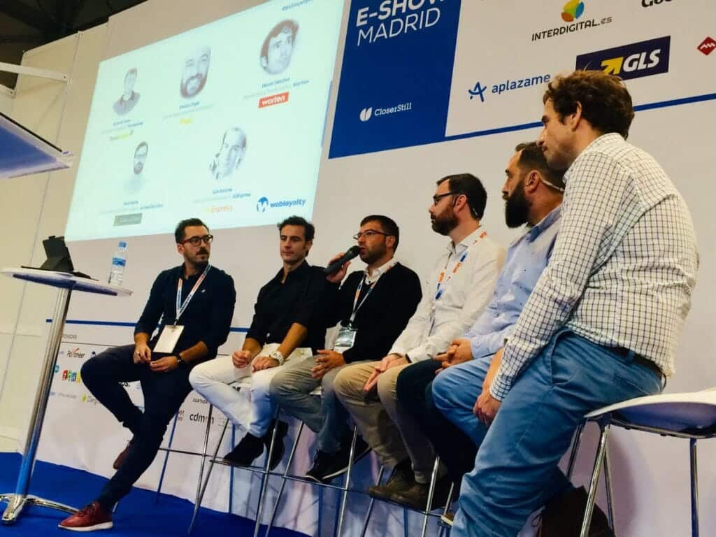 Mesa redonda sobre marketplaces en eShow 2019.