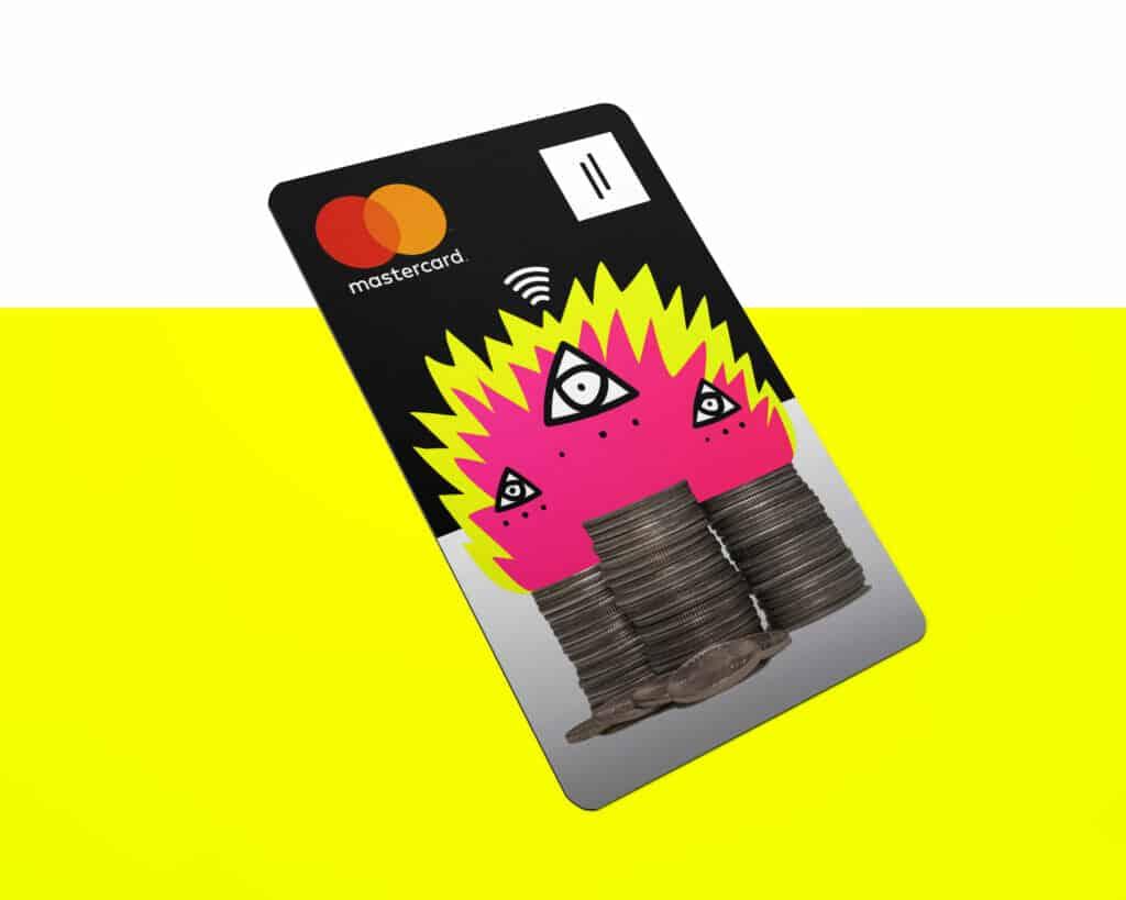 Rebellion Mastercard tarjeta prepago.