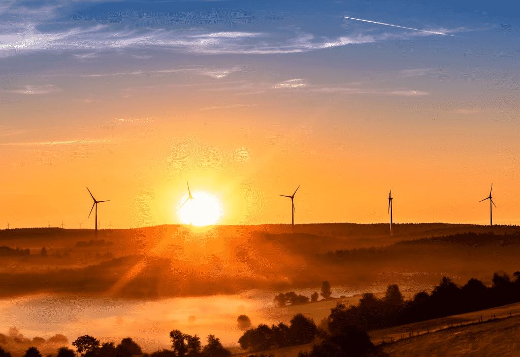 Energías renovables para la transición energética.