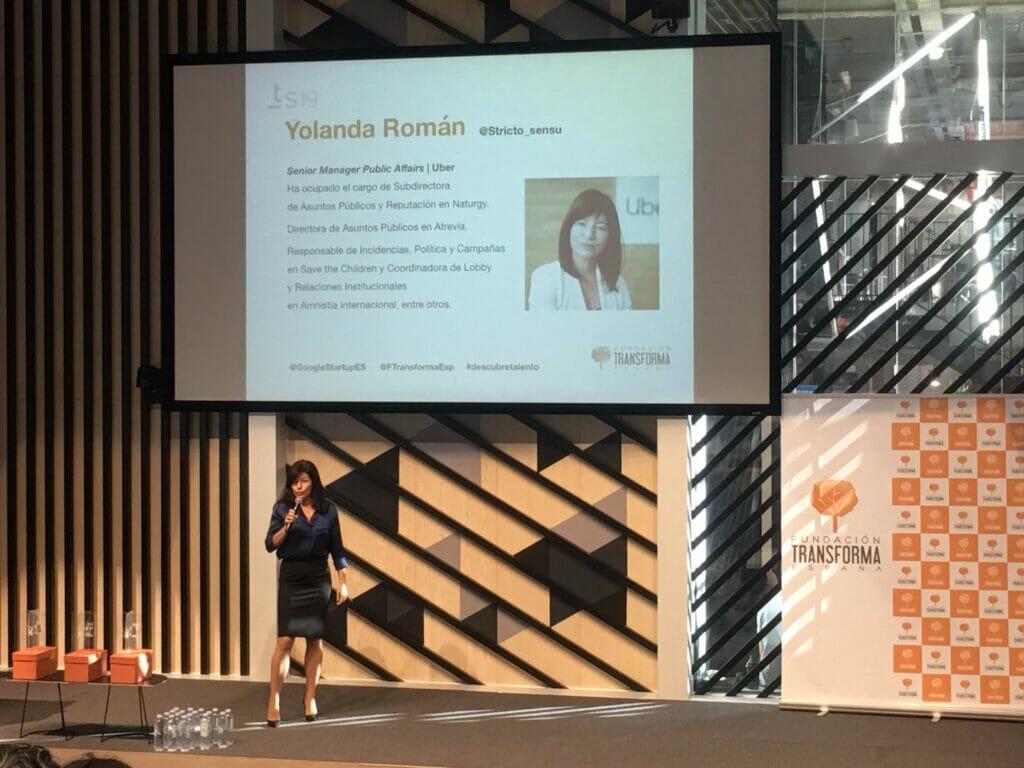 yolanda roman en talent summit 2019.