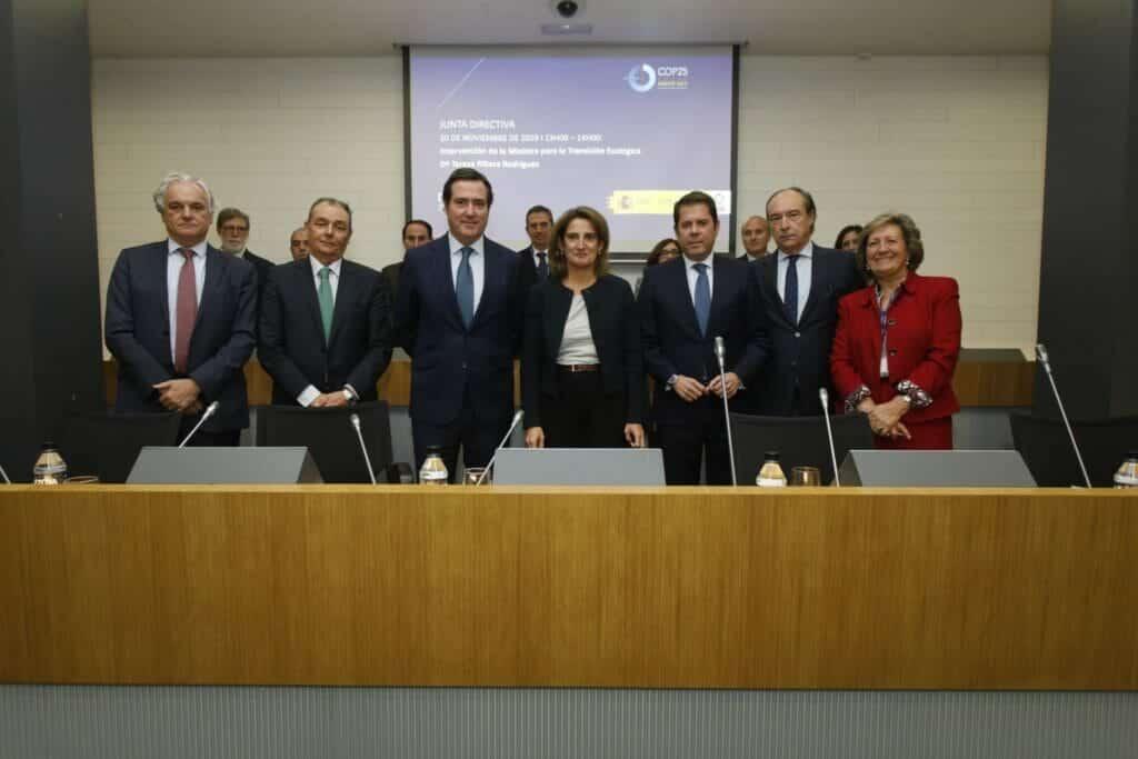 Reunión CEOE-Ministerio de Transición Ecológica