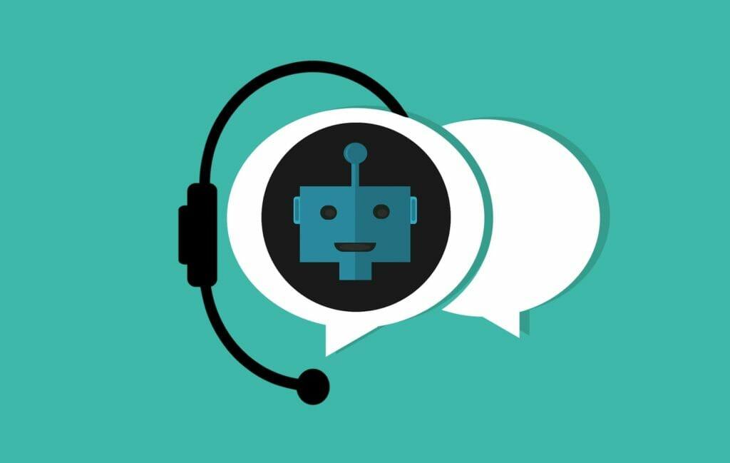 chatbots, asistentes con inteligencia artificial.