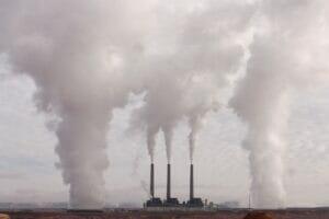 contaminación de gases efecto invernadero.