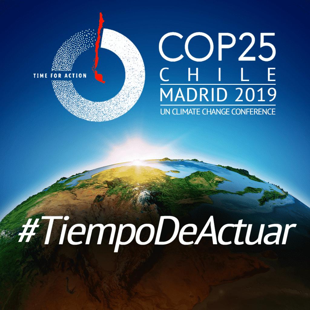 La COP25 se celebra en Madrid.