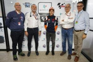 El Quirónsalud Servicio Médico de MotoGP con Marc Márquez