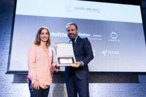 Gabriel Escarrer recoge el Premio a la Innovación en Sostenibilidad Medioambiental