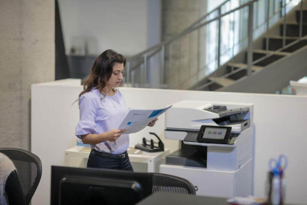 HP OPS nuevos espacios de trabajo para la impresión.