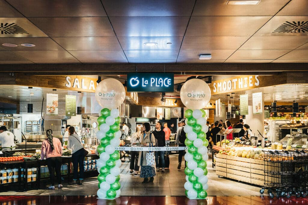 La Place restauración en el Aeropuerto de Barcelona