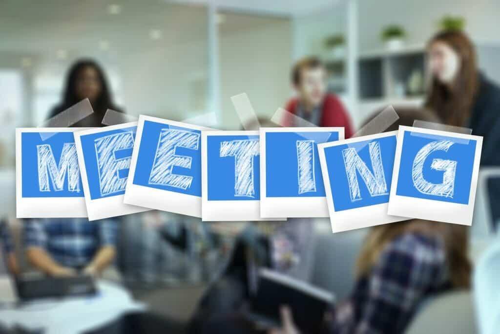 Reunión de Empresa.