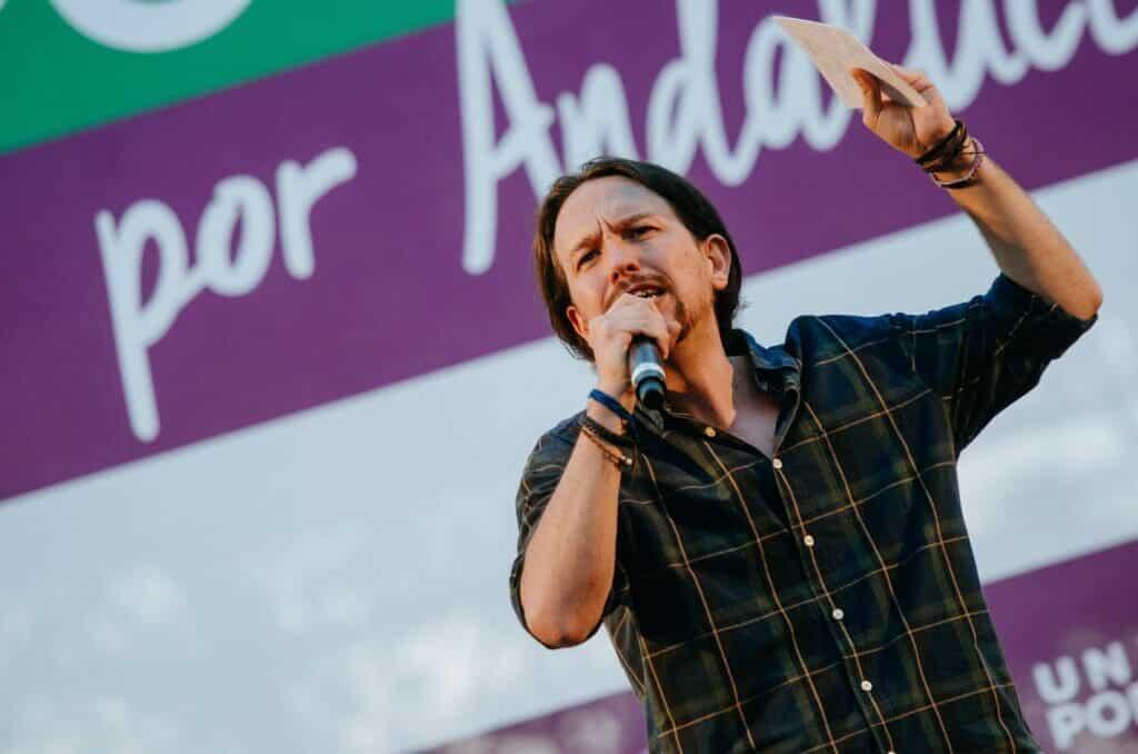 Pablo Iglesias Unidas Podemos.