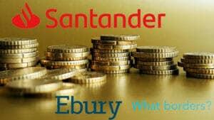 santander compra ebury por 400 millones de euros.