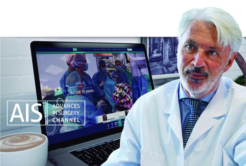 El Dr. de Lacy es el responsable de AIS Channel, el Netflix de la medicina.