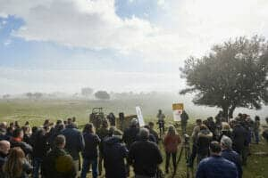 Acto de Alianza Rural con políticos