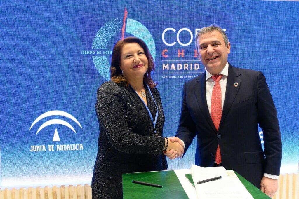 Acuerdo Endesa Junta Andalucía por la biodiversidad