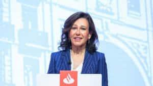 Ana Botin presidenta de Banco Santander.