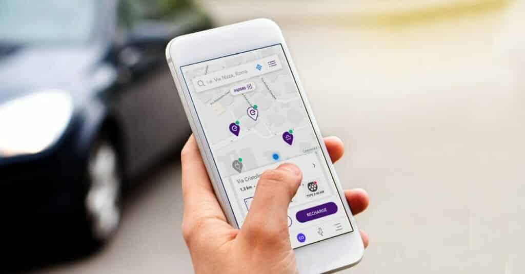 App Juice Pass para cargar el vehículo eléctrico