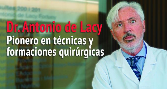 Dr. Antonio de Lacy, responsable de AIS Channel, el Netflix de la medicina