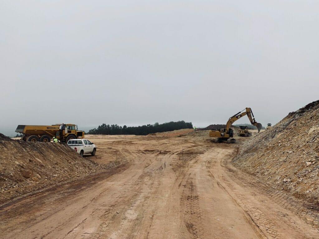 construcción parque eolico serra das penas