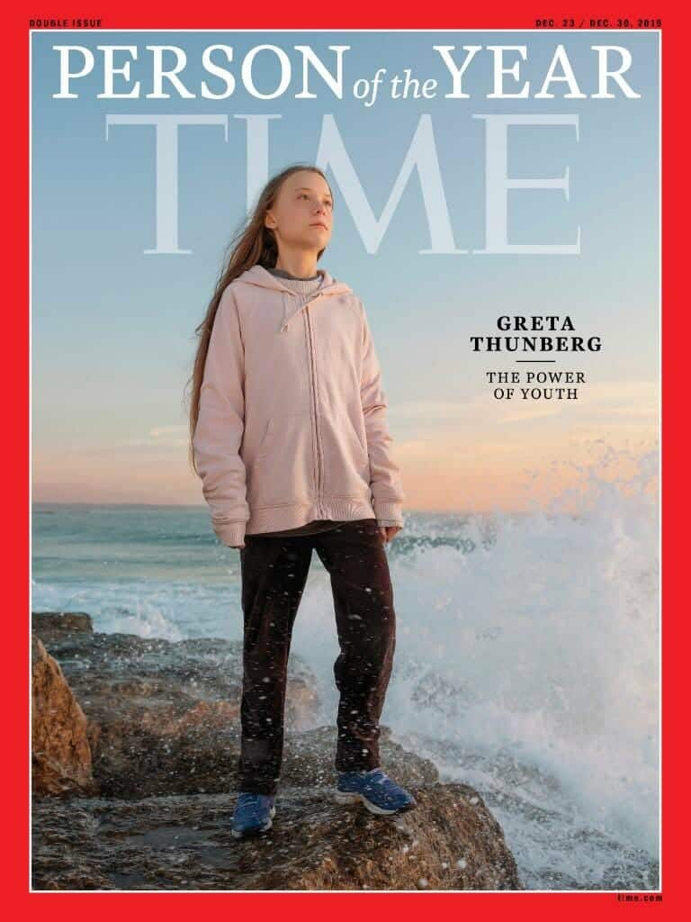 Portada Time Greta Thunberg