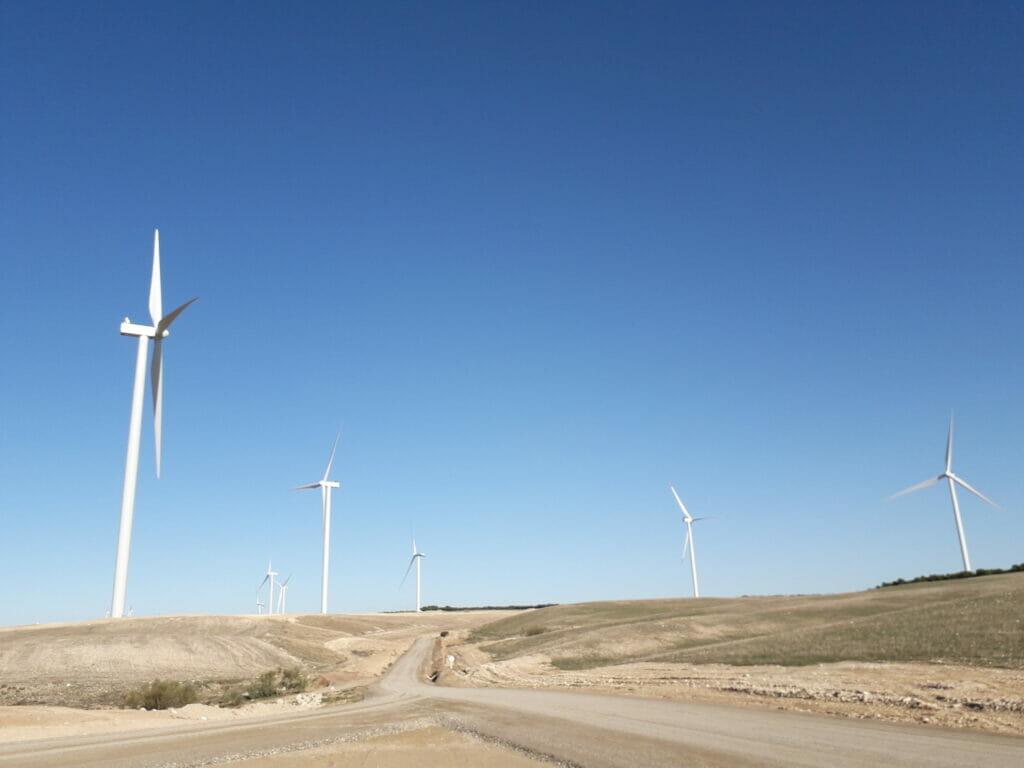 Endesa suma dos nuevos parques eólicos en Zaragoza.