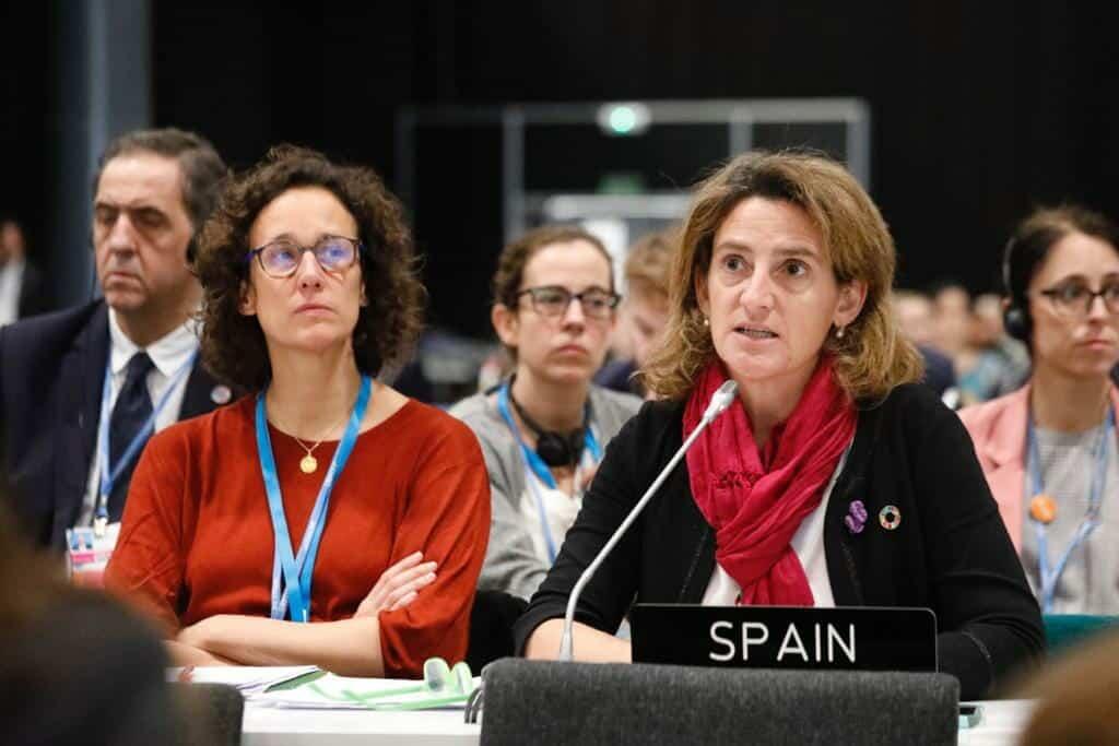 España ha sido clave para alcazar el acuerdo final en la COP25.