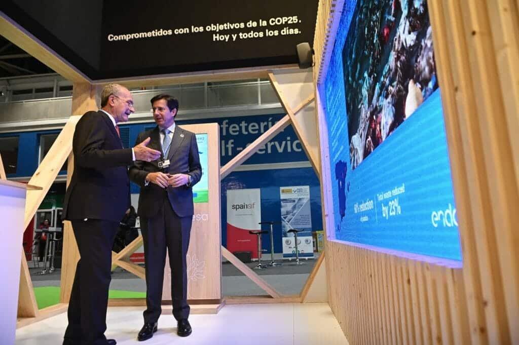 Jóse Casas, directivo de Endesa, en la COP25
