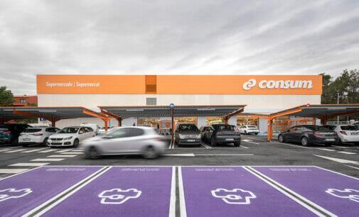 Hacer la compra en Consum y recargar el vehículo eléctrico ya es posible
