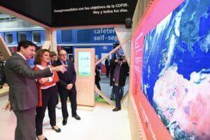 Teresa Ribera con Endesa en la COP25