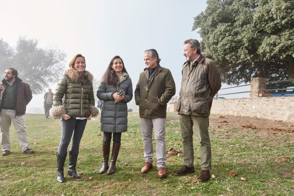 Vox, Ciudadanos y PP acuden a un acto de Alianza Rural