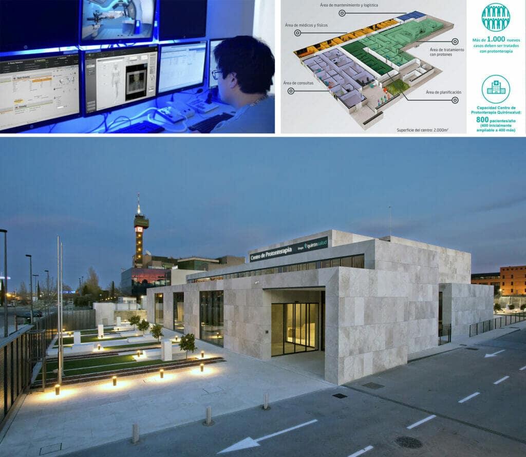 El Centro de Protonterapia Quirónsalud en Madrid abre sus puertas.