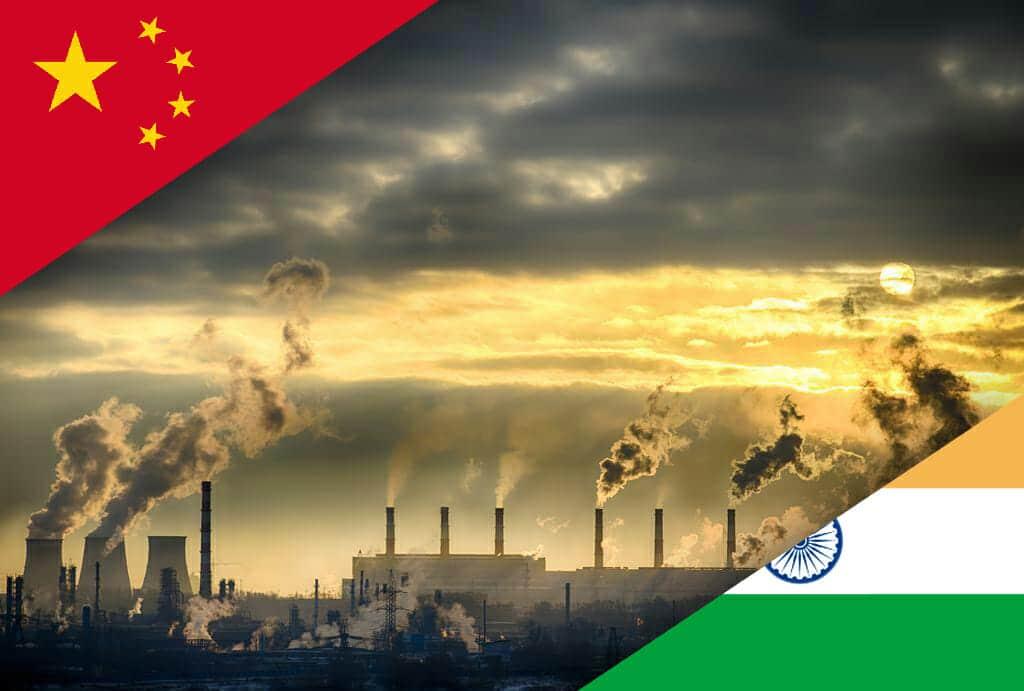 China o India tendrán problemas en esto de salvar el planeta.