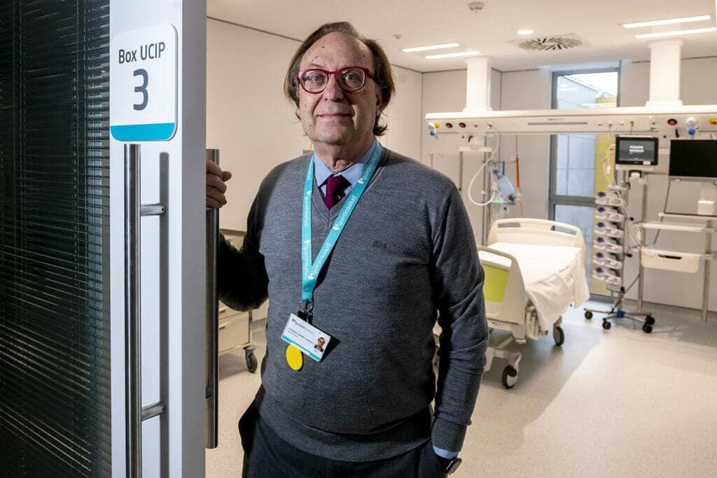 Dr. Fernando Cabañas, pediatra del Hospital Universitario Quirónsalud Madrid.