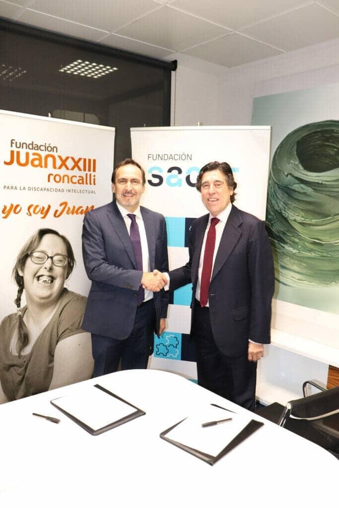 Acuerdo Sacyr formación de personas con discapacidad Fundación Juan XXIII Roncalli.