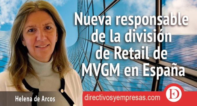 Helena de Arcos, nueva responsable de la división de Retail de MVGM en España