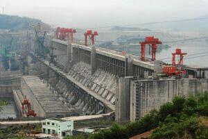 La Presa de las Tres Gargantas en China es la más potente del mundo.