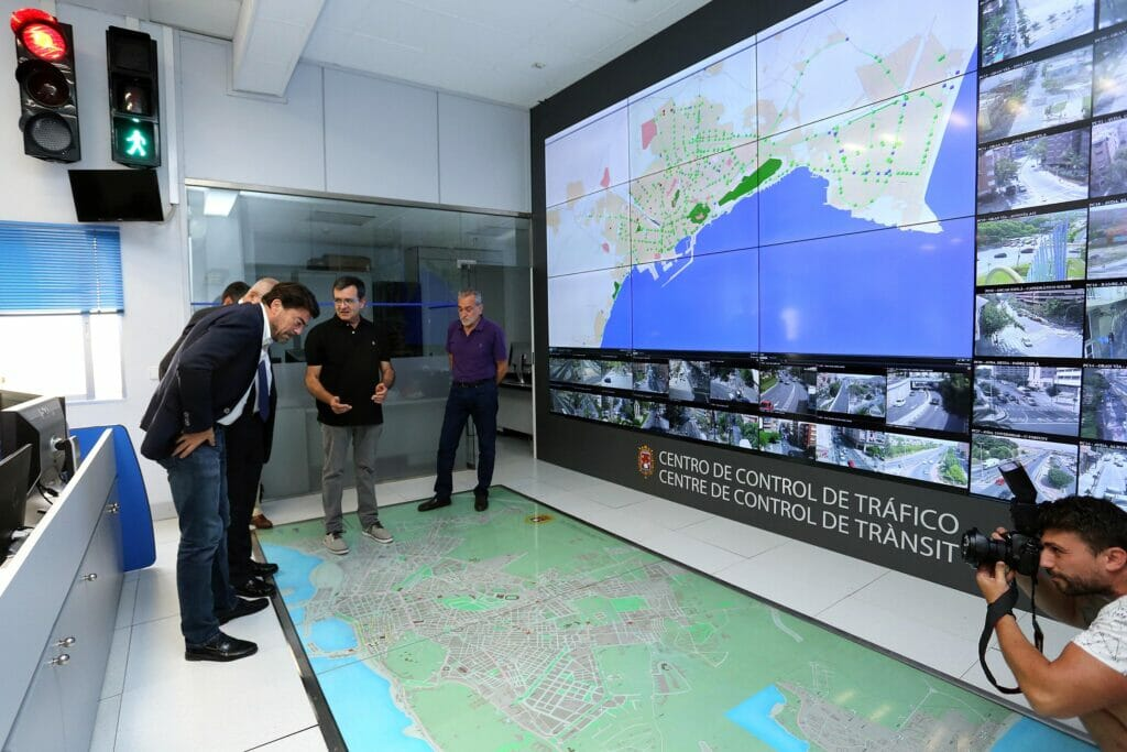 control del tráfico en Alicante