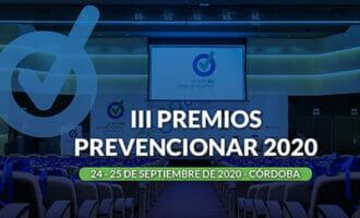 24 y 25 de septiembre: la fecha de los III Premios Prevencionar