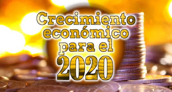 Previsiones del crecimiento de la economía global durante 2020